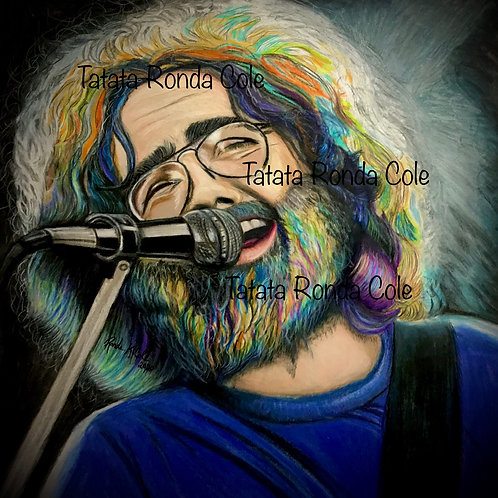 Jerry Colored Pencil Print