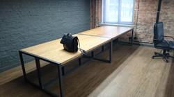 Офисный стол массив дуба