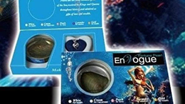 Envogue Fortune Pearl Mermaid Kit 1.75 Inches Silver Plated