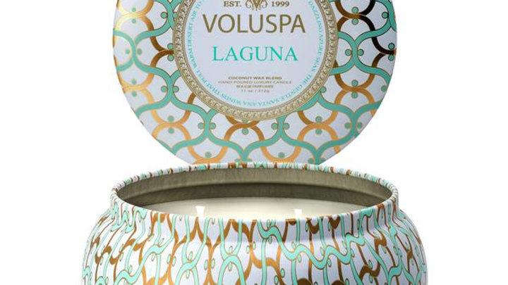 VOLUSPA - LAGUNA, 2 WICK CANDLE