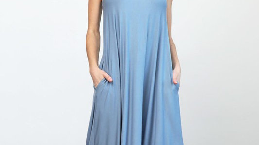 Rayon Modal Jersey Tank Dress