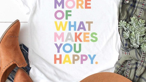 Kissed Makes You Happy Tee