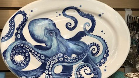 Ceramic Octopus PLatter