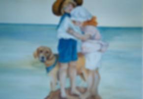 Geribapaintings - Odile Dardenne - Baby's bedroom -