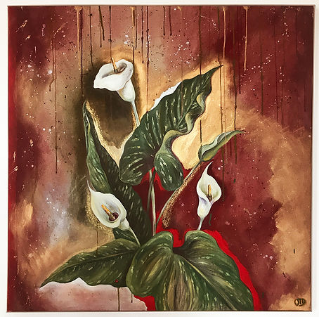 Odile Dardenne - Geriba Paintings -