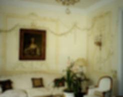 Peinture Faux XVIIIème, Rio de Janeiro, Brazil, peintures décoratives, decorative paintings, odile dardenne, odiledardenne.com, trompe-l'oeil,