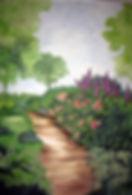 Panneaux décoratifs peints, Boulogne, Paris, France, peintures décoratives, decorative paintings, odile dardenne, odiledardenne.com, trompe-l'oeil,