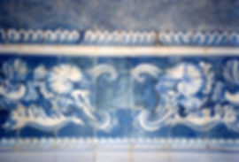 Ipanema, îles Cagarras, Azulejos, Rio de Janeiro, Brazil, peintures décoratives, decorative paintings, odile dardenne, odiledardenne.com, trompe-l'oeil,