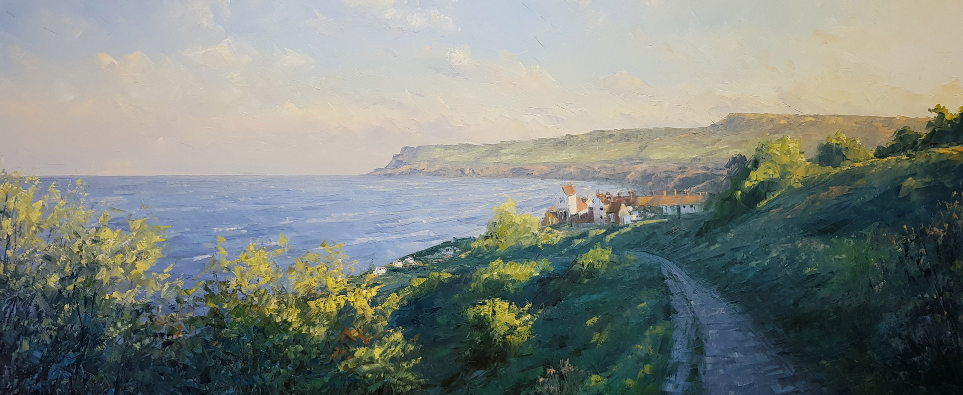Robin Hood's Bay from below the Victoria Hotel.