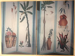 Geribapaintings - Odile Dardenne - Folding Screen - Casa Cor Rio de Janeiro -