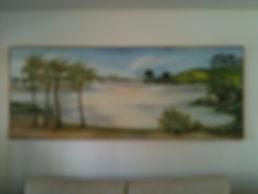 Brazil, peintures décoratives, decorative paintings, Odile Dardenne, odiledardenne.com, trompe-l'oeil, Toquinho, Pernambuco, Recife, Praia dos Carneiros, Praia de Toquinho,