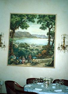 Copacabana Palace,  Rio de Janeiro, Brazil, peintures décoratives, decorative paintings, Odile Dardenne, odiledardenne.com, trompe-l'oeil,