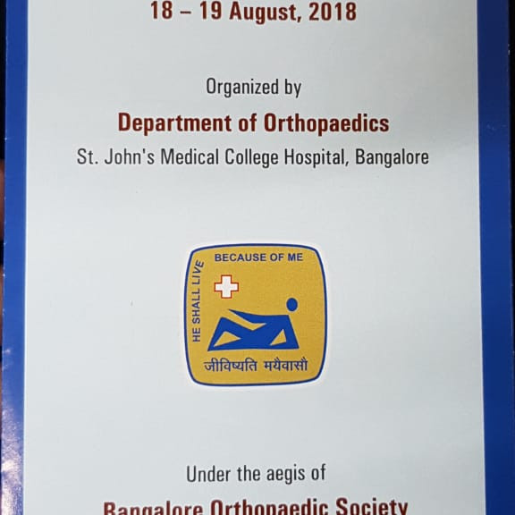 St JOHNS ORTHO PG COURSE