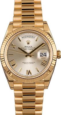 Rolex President yellow gold 18k 14k 10k