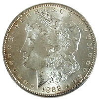 Uncirculated Morgan Dollars