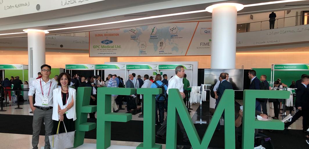 Tham dự Triển lãm Thiết bị Y tế FIME tại Miami, Florida, U.S (06/2019)
