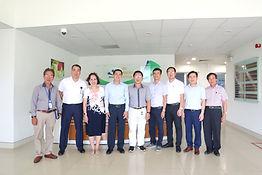 GS. TS. Trần Văn Thuấn, Thứ trưởng Bộ Y tế và đoàn công tác tới thăm và làm việc tại Công ty Cổ phần Nhà máy Thiết bị Y học và Vật liệu Sinh học – MEDEP JSC. Saigon Hi-Tech Park, ngày 04 tháng 9 năm 2020