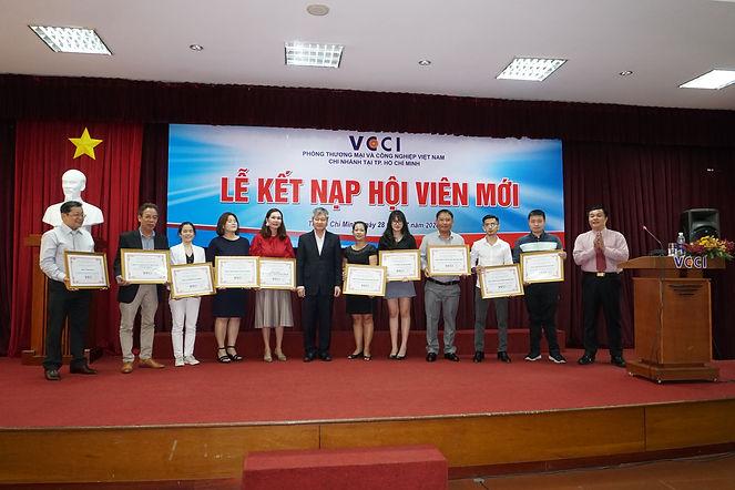 MEDEP JSC vinh dự trở thành hội viên Phòng Thương mại và Công nghiệp Việt Nam (VCCI)