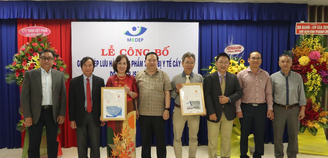 Lễ Công bố Giấy phép Lưu hành Sản phẩm 2020 (10/2020)