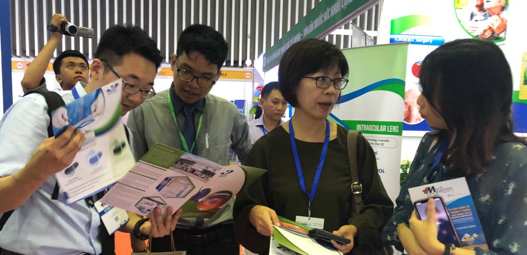 Triển lãm Vietnam Medi-Pharm Expo tại Quận 7, TP. Hồ Chí Minh (07/2019)