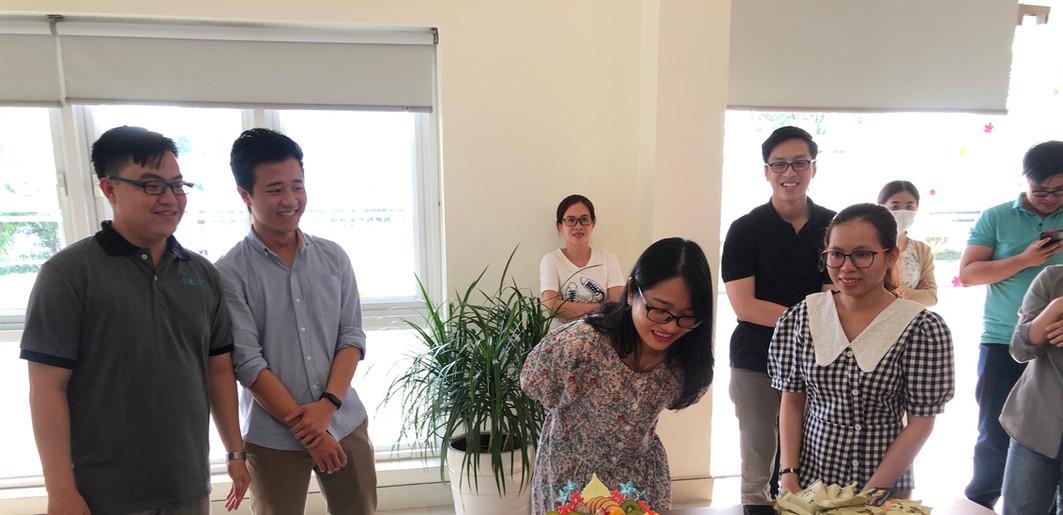 Tổ chức chúc mừng sinh nhật cho CB-CNV (02/2021)