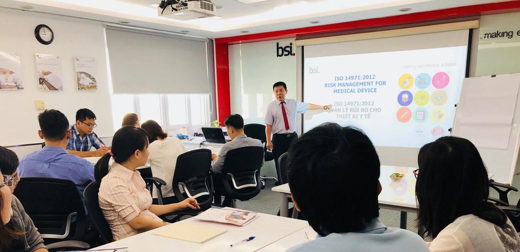Đào tạo cán bộ tại BSI Training Academy (10/2018)