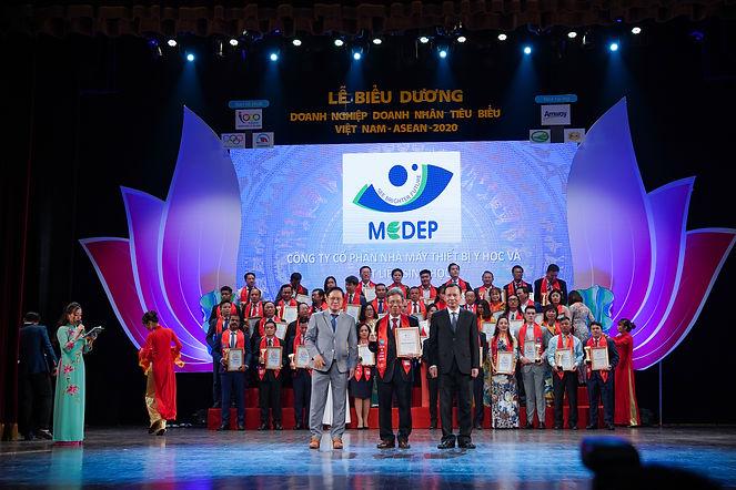 """Biểu dương Doanh Nghiệp Tiêu Biểu ASEAN – MEDEP JSC đạt danh hiệu """"Doanh Nghiệp Uy Tín Phát Triển Thịnh Vượng Việt Nam – Asean 2020"""" – Doanh nghiệp đã có nhiều đóng góp cho sự nghiệp phát triển kinh tế việt nam – ASEAN 2020"""