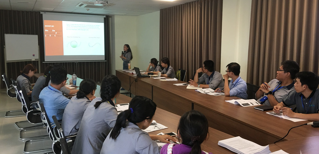 Đào tạo tập trung toàn Công ty (05/2018)