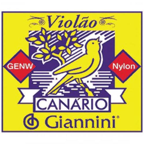 Encordoamento Violão de Nylon Canário Giannini