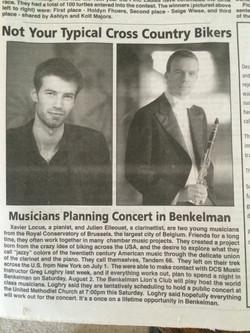 Journal local de Benkelman