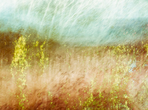 Field Abstract I - Printed on Fotospeed Platinum Baryta Paper 300g Paper