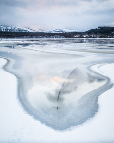 Winter on Loch Insh