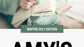 Amy's Recommended Reads - Winter 2021