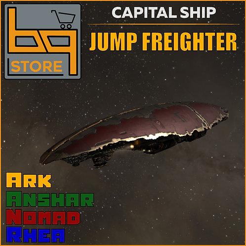 Jump Freighter, digital item consultation