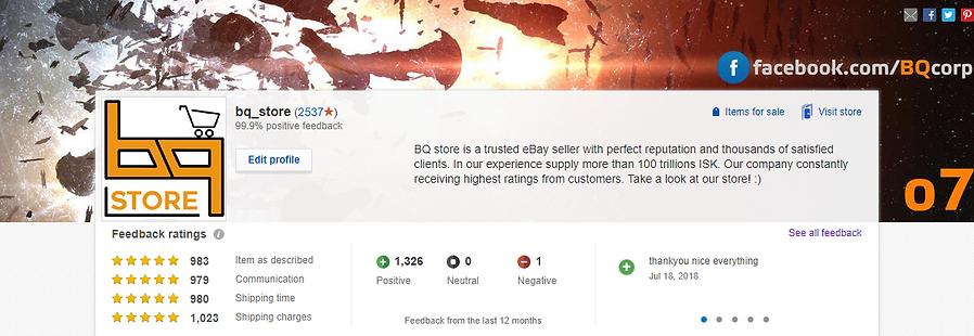 BQ store top rated service ebay bqstore.net