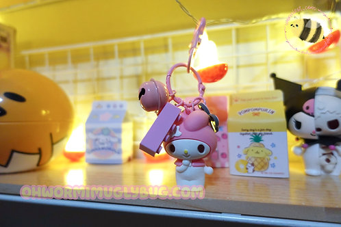 My Melody Bell Keychain