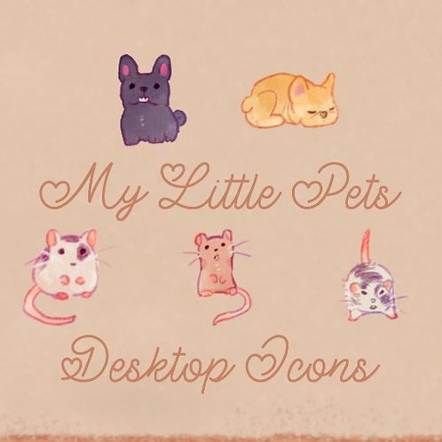 My Little Pets Desktop Icons