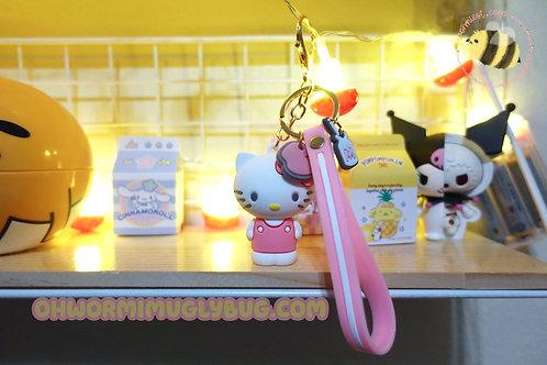 Hello Kitty Strap Keychain