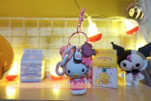 Hello Kitty Bell Keychain
