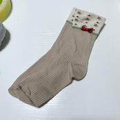 Cream Socks