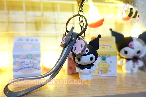 Kuromi Strap Keychain