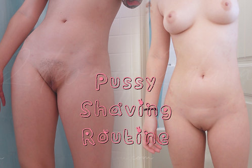 Pussy Shaving Routine