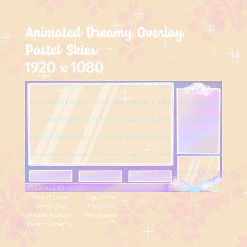 Pastel Skies Animated Overlay