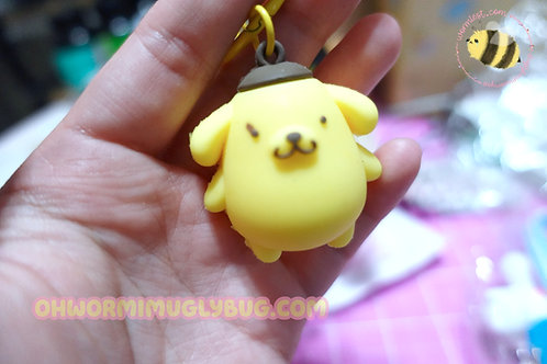 Imperfect Pompompurin Bell Keychain