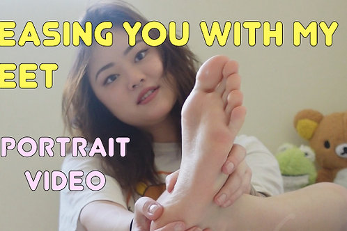 Teasing You With My Feet