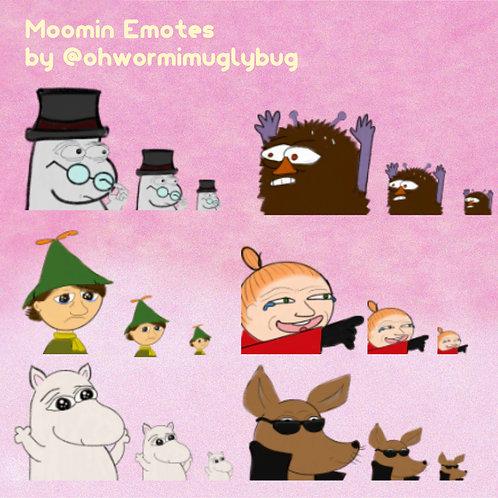 Moomin Emotes