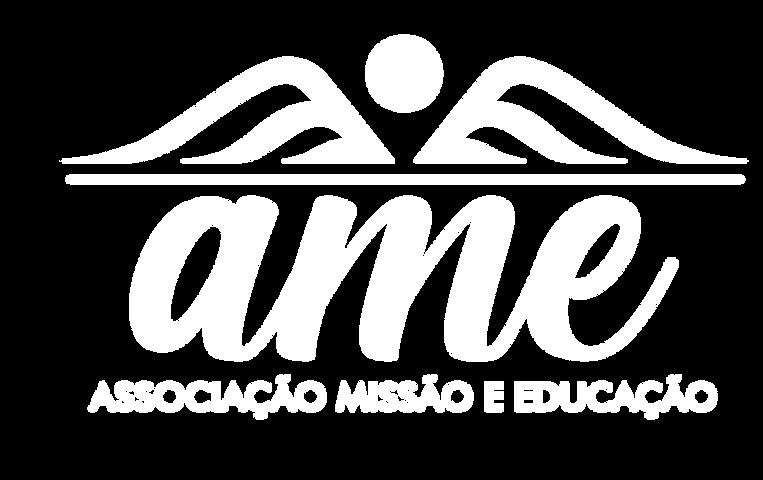 LOGO AME Branco - Associação Missão e Ed