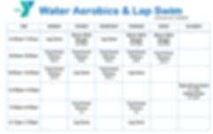 Water Aerobics & Lap Swim Schedule_Updat