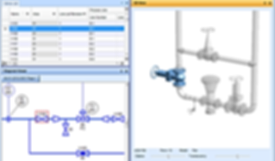 Process Engineering - PID & 3D model