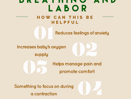 Diaphragmatic Breathing and Labor - How is this connected?